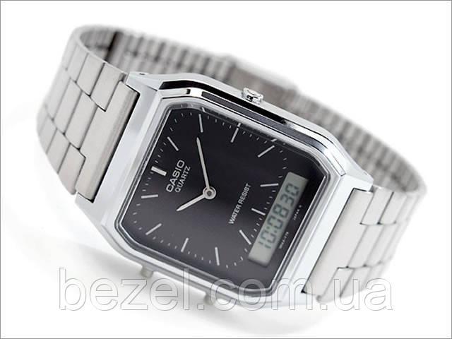 Мужские часы Casio AQ-230A-1D Касио японские кварцевые
