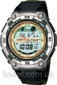 Мужские часы Casio AQW-100B-3AVEF Касио японские кварцевые