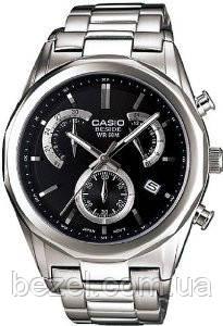 Мужские часы Casio BEM-509D-1A Касио японские кварцевые