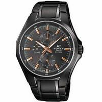 Мужские часы Casio Edifice EF-339BK-1A9 Касио японские кварцевые, фото 1