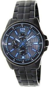 Мужские часы Casio Edifice EF-343BK-1A  Касио японские кварцевые