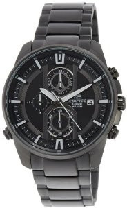 Чоловічі годинники Casio Edifice EFR-533BK-1A Касіо японські кварцові