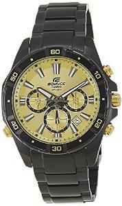 Мужские часы Casio Edifice EFR-534BK-9A Касио японские кварцевые