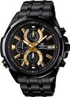 Мужские часы Casio Edifice EFR-536BK-1A9 Касио японские кварцевые