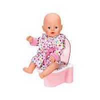 Интерактивный Горшок со звуком для куклы Baby Born Zapf Creation 823903