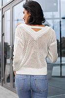 Свитер женский модный красивая вязка разные цвета SSdi110
