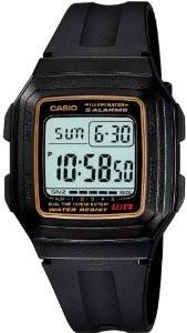 Мужские часы Casio F-201WA-9A  Касио японские кварцевые
