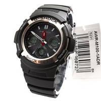 Мужские часы Casio G-Shock AWR-M100-1A Solar  Касио японские кварцевые