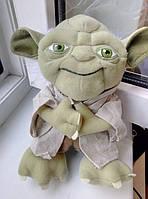 Мягкая игрушка Мастер Йода из м/ф Звездные войны, 20 см