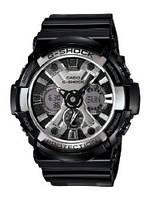 Мужские часы Casio G-Shock GA-200BW-1A  Касио японские кварцевые