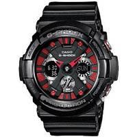 Мужские часы Casio G-Shock GA-200SH-1A  Касио японские кварцевые
