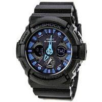 Мужские часы Casio G-Shock GA-200SH-2A  Касио японские кварцевые