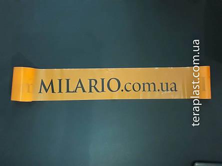 Лента с вашим логотипом 2 цвета (80 мм*80 мкм*500 м), фото 2