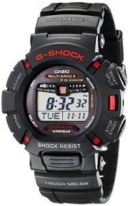 Мужские часы Casio G-Shock GW-9010-1 Mudman Solar  Касио японские кварцевые