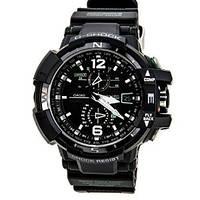 Мужские часы Casio G-Shock GWA-1100-1A3 G-Aviation  Касио японские кварцевые