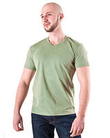 Мужская футболка фисташка мыс ФМ-39, фото 1