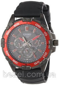 Мужские часы Casio MTD-1069B-1A2  Касио японские кварцевые