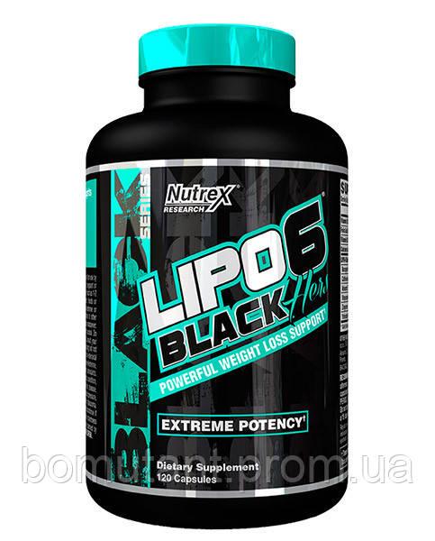 Lipo 6 black hers 120 капс nutrex - BOMutant в Кропивницком