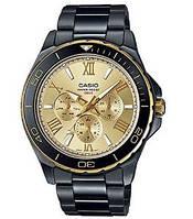 Мужские часы Casio MTD-1075BK-9A Касио японские кварцевые