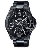Мужские часы Casio MTD-1075BK-1A1  Касио японские кварцевые