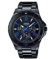 Мужские часы Casio MTD-1075BK-1A2  Касио японские кварцевые