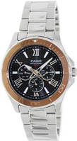 Мужские часы Casio MTD-1075D-1A2 Касио японские кварцевые