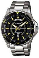 Мужские часы Casio MTD-1076D-1A9V  Касио японские кварцевые