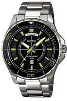 Мужские часы Casio MTD-1076D-1A3V  Касио японские кварцевые