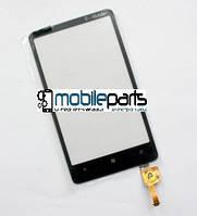 Оригинальный Сенсор (Тачскрин) для HTC T9292 | T9191 Desire HD7 (Черный)