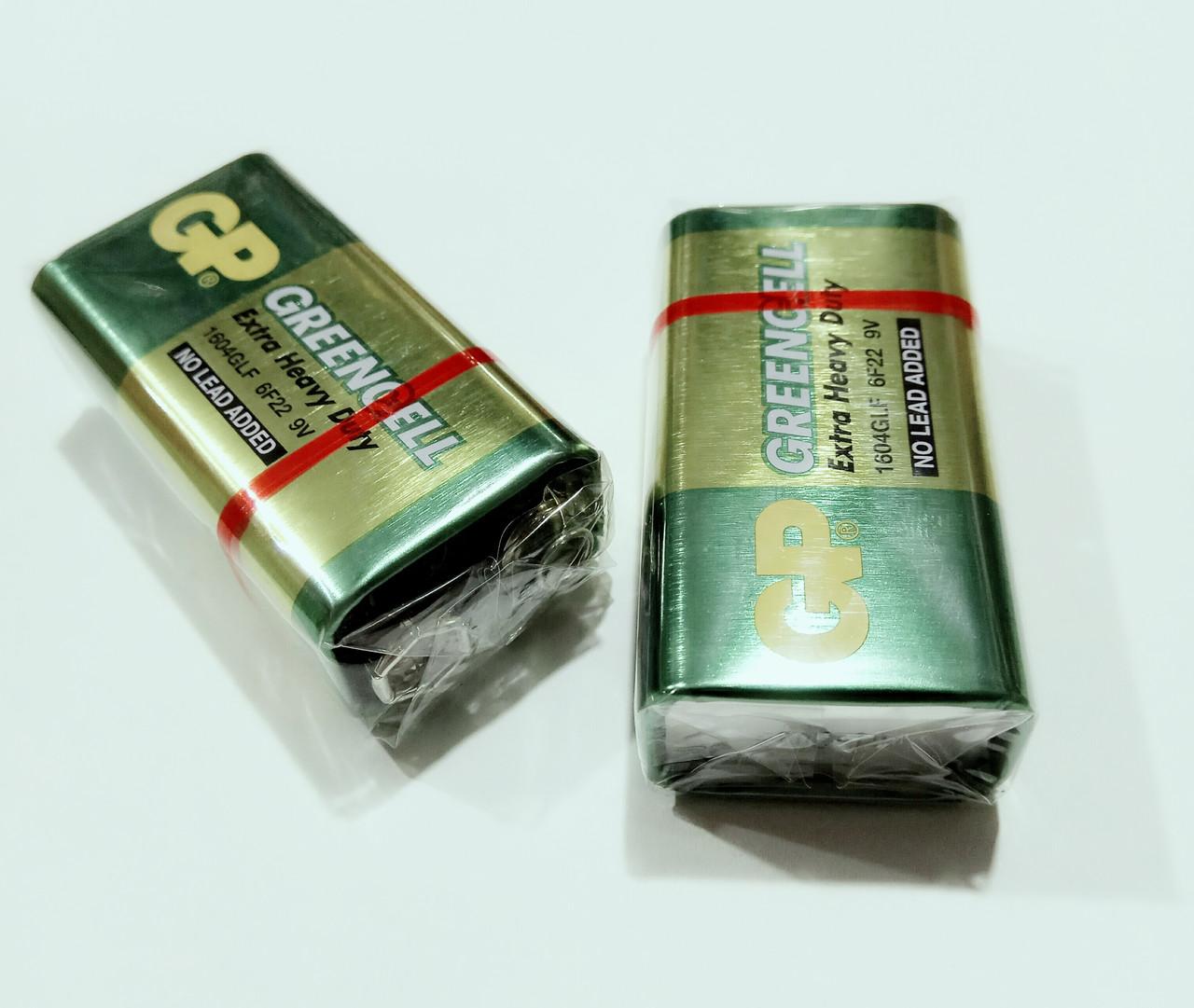 Батарейка крона GP 9V Greencell
