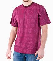 Мужская футболка бордо , фото 1