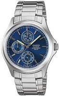 Мужские часы Casio MTP-1246D-2A Касио японские кварцевые