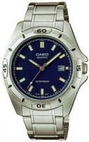 Мужские часы Casio MTP-1244D-2A  Касио японские кварцевые
