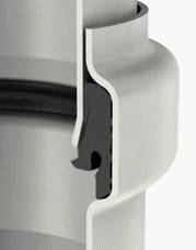 ACO PIPE Труба из нержавеющей стали AISI 304, DN 125, 1000 mm