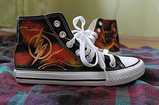 Кеды Converse All Star Replica Flash Lisa Deco, фото 3
