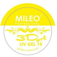 3 d гель для лепки Mileo №16