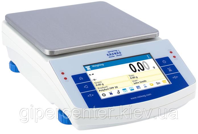 Весы лабораторные PS 4500.X2 до 4500 г, дискретность 0.01 г, фото 2