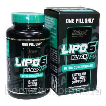 Lipo 6 black hers ultra concentrate nutrex 60 капсул - BOMutant в Кропивницком