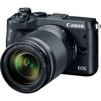 Цифровой фотоаппарат Canon EOS M6 18-150 IS STM Black (1724C044AA)