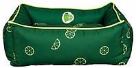 Лежак Trixie Fresh Fruits микрофибра и полиэстер, темно-зеленый, 60х50 см