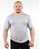 Мужская футболка светло-серая 98, фото 1