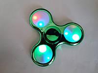 Спиннер светящиеся хром Led Fidget spinner