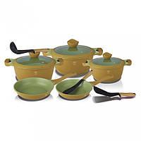 Набор посуды Berlinger Haus Olive Line 11 предметов BH-1380