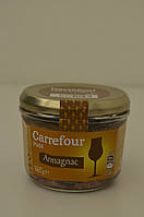Паштет свиной с арманьяком (бренди) Carrefour 180 г