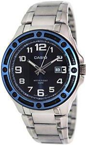 Чоловічий годинник Casio MTP-1347D-2A Касіо японські кварцові