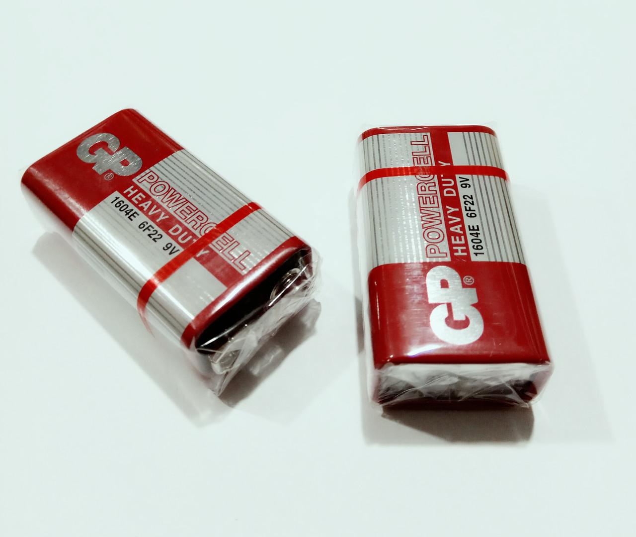 Батарейка 9V GP 1604E Powercell 6F22 крона