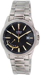 Мужские часы Casio MTP-E102D-1A Касио японские кварцевые