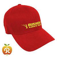 Печать логотипа на кепках, бейсболках