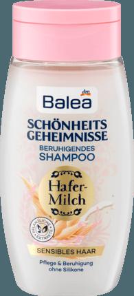 Шампунь для сухих и поврежденных волос Balea Schönheitsgeheimnisse Hafermilch, 250 ml