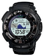 Мужские часы Casio Pro Trek PRW-2500-1A Solar  Касио японские кварцевые